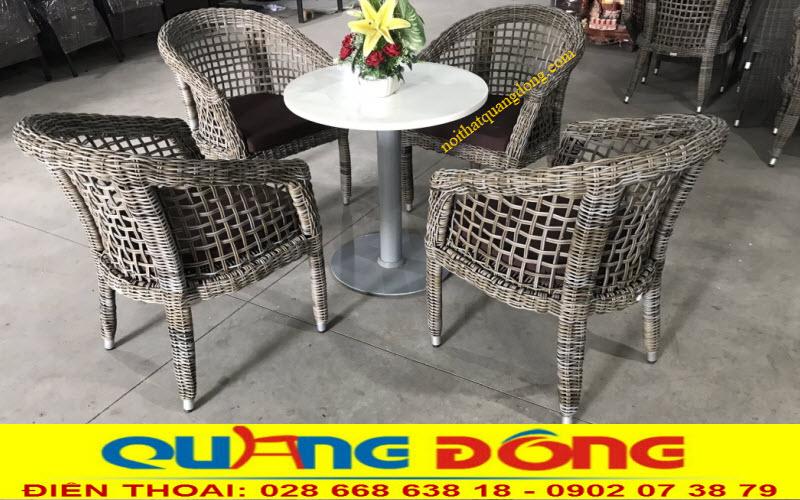 Ghế cafe chất lượng ngoài trời hàng cao cấp cho cafe sân vườn